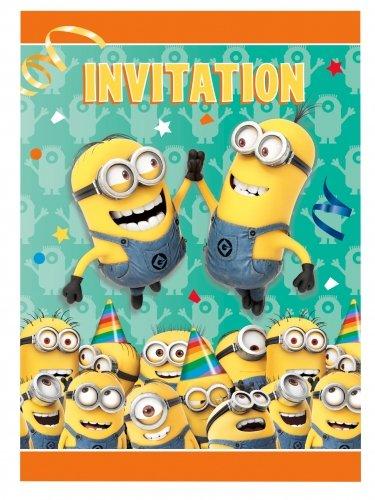 Unique Industries Despicable Me Invitations (8