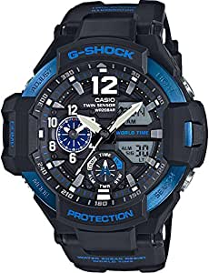 Casio G-Shock Blue Gravity Defier Ga1100-2B Watch