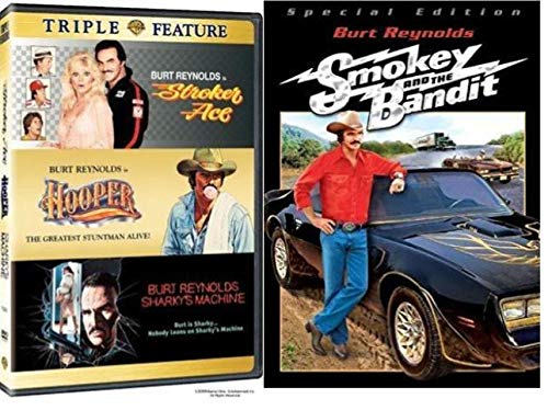 Burt Reynolds Movies DVD 4-Pack - Stroker Ace / Hooper / Sharky's Machine / Smokey and the Bandit (Ace Stroker Movie)