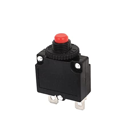 AC125 / 250V 15A 2P compresor de aire Reset de protector de sobrecarga del interruptor automático