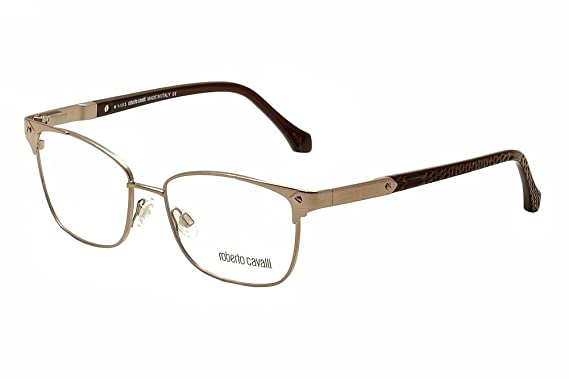 Amazon.com: Roberto Cavalli Women\'s RC0762 Metal Frames BRONZE 53 ...