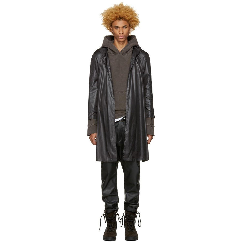 (アコールドウォール) A-Cold-Wall* メンズ アウター レインコート Black Nylon Raincoat [並行輸入品]