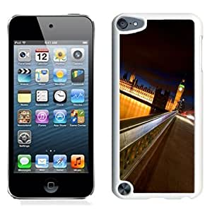 Lovely and Durable Cell Phone Case Design with London iPod Touch 5 Wallpaper 6 in White
