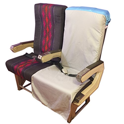 FLYTJKT airplane seat cover, theater seat cover, personal seat cover