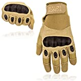 Tactical Shooting Gloves-Hard Knuckle Tactical Gloves For Riding Motorcycle Police Airsoft Swatt Assault