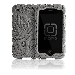 Incipio iPhone 3G/3GS Tribal REGRIND ECO Case - 1 Pack - Carrying Case - Retail Packaging - Brown