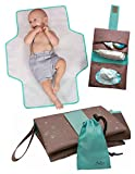 Portable Diaper Changing Station: Diaper Clutch with XL Changing Pad for Newborns & Toddlers