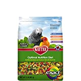 Image of Kaytee Exact Fruity Rainbow Bird Food for Parrots and Conures, 2-Pound