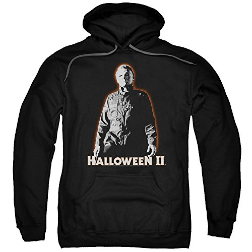 Halloween II Horror Slasher Movie Series Michael Myers Adult Pull-Over (New Halloween Michael Myers Movie)