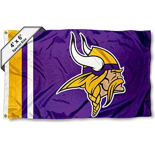 WinCraft Minnesota Vikings 4' x 6' Foot Flag