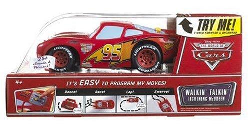 Disney Cars Walking Talking Lightning McQueen Amazoncouk Toys