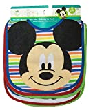 Disney Mickey Mouse Baby Boys 6 Pack Bibs