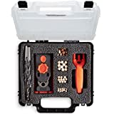 VonHaus Undercover Jig Set/Pocket Hole Kit - Dowel Drill Set with Carry Case – Ideal for Corner Joints, T-Joints, Framing Joints, Miter Joints & Wood Dowelling