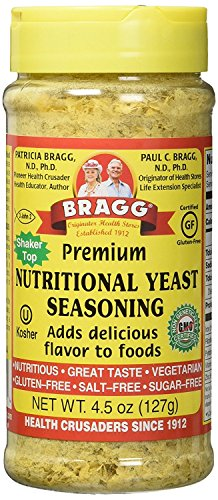 Bragg Nutritional Premium Yeast Seasoning, 13.5 Ounce by Bragg