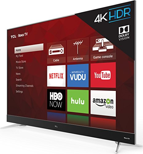 TCL 65C807 65 Inches 4K Ultra HD Smart LED TV