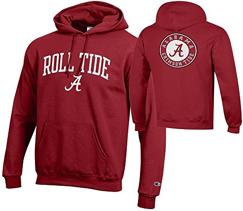 Elite Fan Shop Alabama Crimson Tide Hoodie Sweatshirt Roll Tide - -