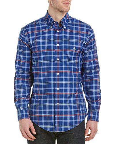 brooks-brothers-mens-regent-slim-fit-woven-shirt-large-blue