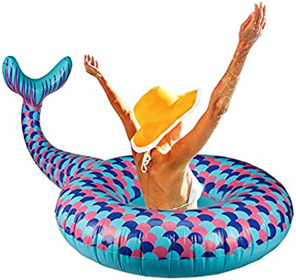 Relaxdays - Anillo Flotador para Piscina y Playa (tamaño XL ...