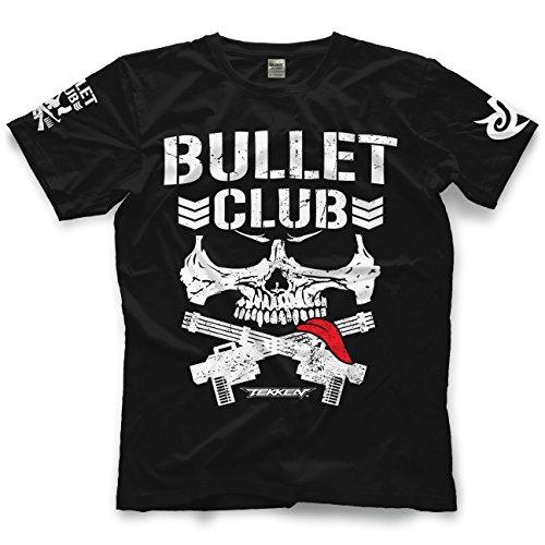 Bullet Mens Tee (Adult New Japan Pro-Wrestling Kenny Omega X Brian Fury Tekken Bullet Club Tee)