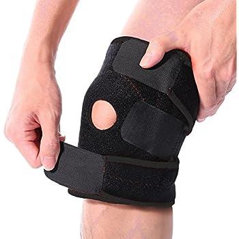 ab959a227e ROYI Knee Brace Support Sleeve For Arthritis, ACL, Running, Basketball,  Meniscus Tear