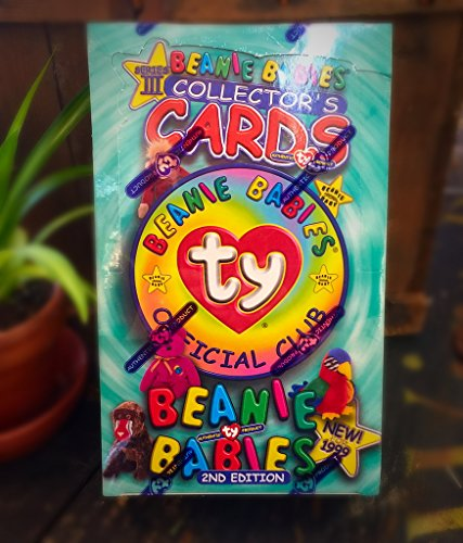 Unopened BOX Beanie Babies Trading Cards Series III 2nd Edition Series 3 1999
