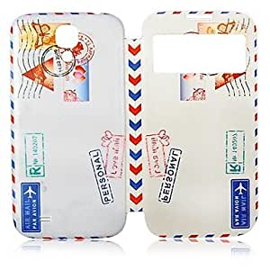 Teléfono Móvil Samsung - Carcasas de Cuerpo Completo - Diseño Especial - para Samsung S4 I9500 ( Multi-color , Cuero PU )