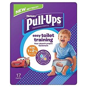 Huggies Pull Ups Day Time Potty Training Pants Boys 1-2.5 Years (8-17kg) 17 Pants