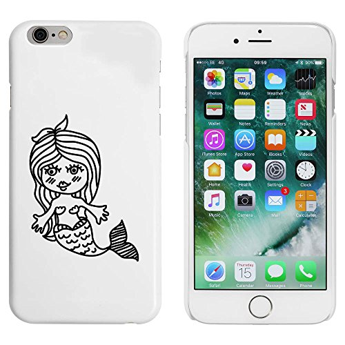 Weiß 'Schöne Meerjungfrau' Hülle für iPhone 6 u. 6s (MC00087313)