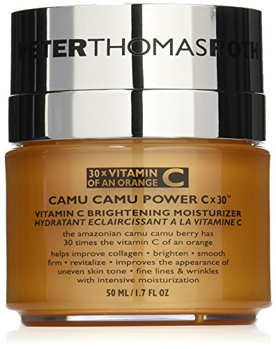 Peter Thomas Roth Camu Camu Power C-X 30 Brightening Moisturizer, 1.7 Fluid Ounce