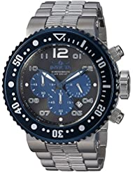 Invicta Mens Pro Diver Quartz Stainless Steel Casual Watch, Color Silver-Toned (Model: 25074)