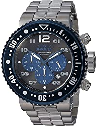 Men's 'Pro Diver' Quartz Stainless Steel Casual Watch, Color:Silver-Toned (Model: 25074)