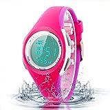 Kid Watch Sport LED Alarm Stopwatch Digital Child Quartz Wristwatch for Boy Girl
