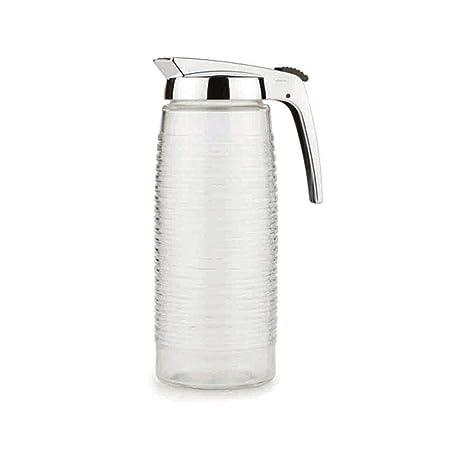 Valira Jarra Agua, Metal, Gris y Transparente, 26 cm