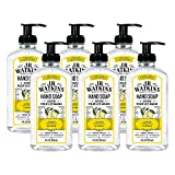 J.R. Watkins Hand Soap, Gel, 11 fl oz, Lemon (6 pack)