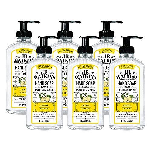 (J.R. Watkins Hand Soap, Gel, 11 fl oz, Lemon (6 pack))
