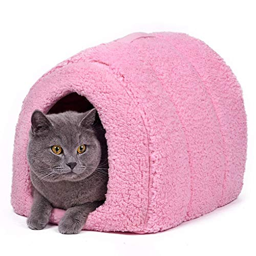 Guard Cover Rest Mattress (Pets Warm House Winter Soft Home Dog Cat Bed Cute Nest for Puppy Indoor Outdoor Dog House Bed)
