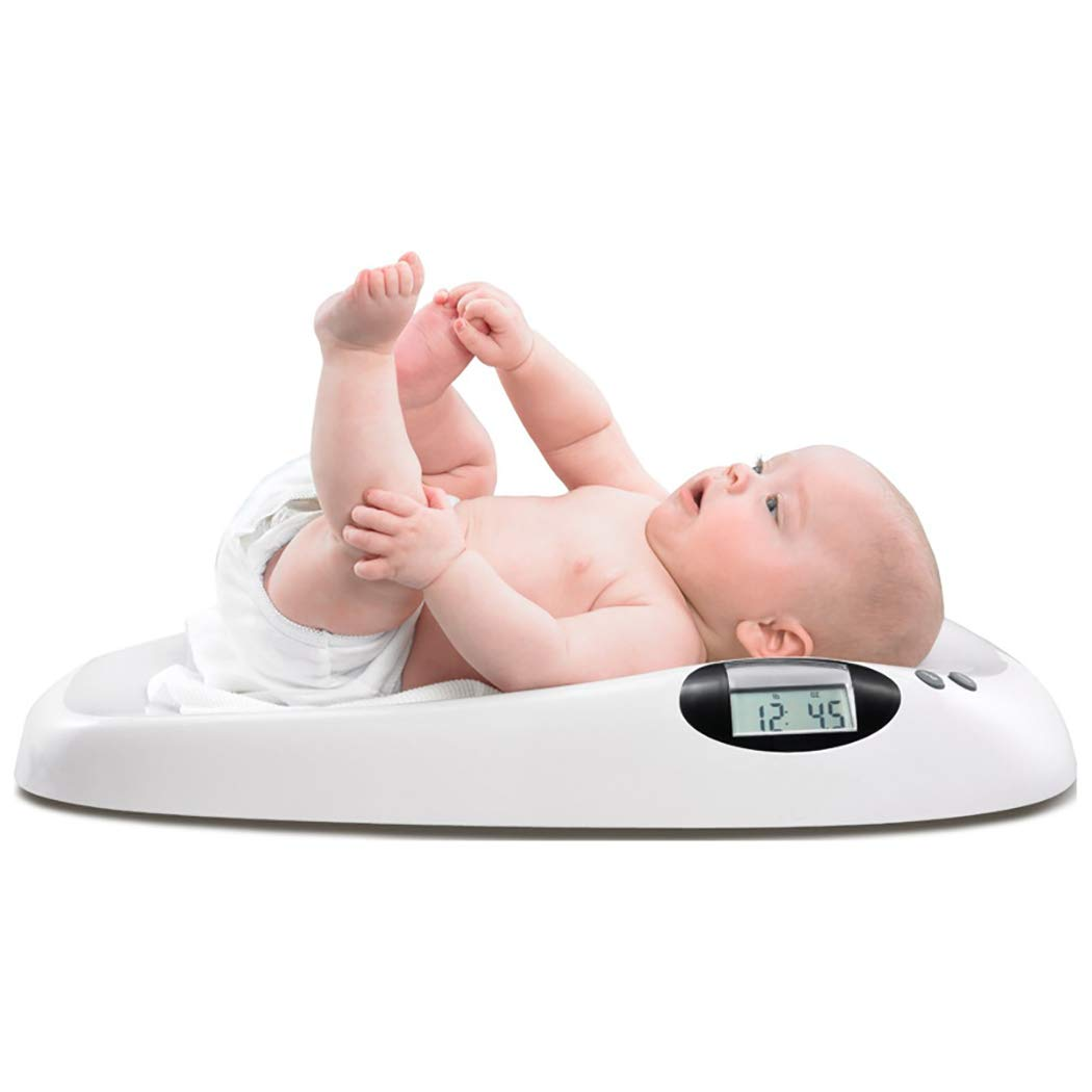 DPPAN Digital Baby Scale, Multi-Function Electronic Infant Scale, Max Capacity 20 kg/44 lb, Precision 10g,White by DPPAN