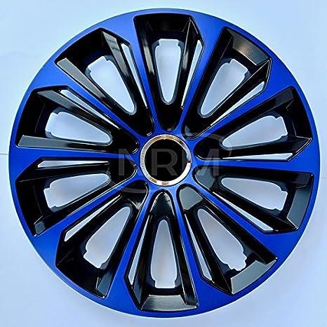 Universelle Radzierblenden Drift EXTRA Blau//Schwarz in 16 Zoll
