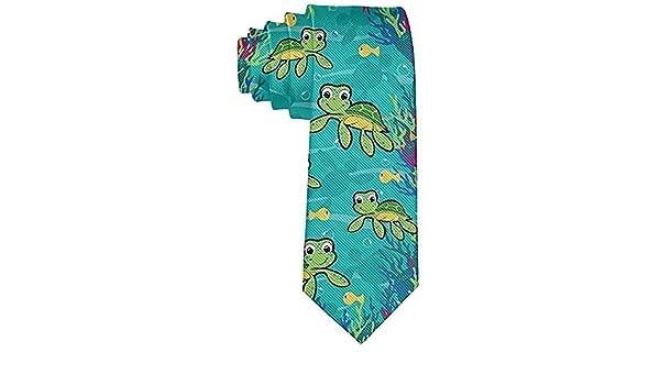 Corbata de tortuga bebé hawaiana para hombre Fiesta Boda Caballero ...