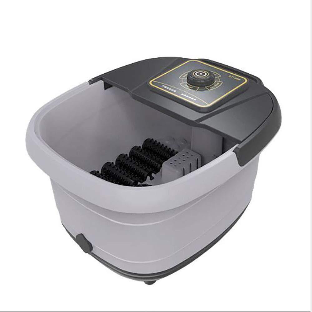 【超歓迎された】 フットマッサージバケツ、12マッサージローラー付き、水力電気分離システム B07Q9LK4DW、DAI防水表面ステッカー、自動フット浴槽 B07Q9LK4DW, 煎り屋   珈琲の家:c7bbc4b0 --- turtleskin-eu.access.secure-ssl-servers.info