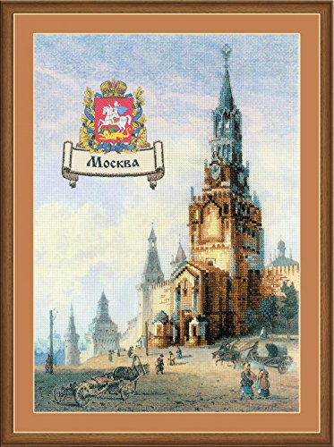 RIOLIS 0064 Cities of Russia - Moscow - Counted Cross Stitch