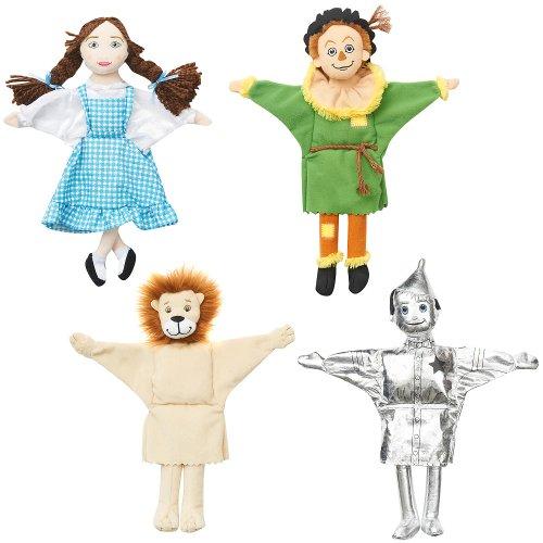 FAO Schwarz Hand Puppets - Wizard of Oz