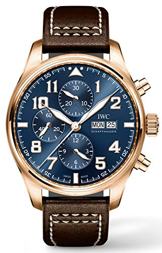 (Limited Edition IWC Pilot's Watch Chronograph Rose Gold Le Petit Prince IW377721 )