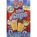 Joy Mini Cups; Mini Ice Cream Cones for Kids, 42 Count (1 Box (42 cones)) 1.6 OZ (45G)
