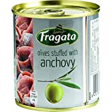 Fragata Anchovy Stuffed Spanish Olives 200 g (Pack of 8)