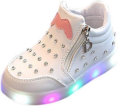 Zapatilla de niña zapato zapatos de piel para bebe de 0 a 5 años