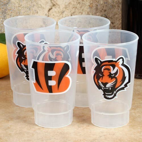 Arizona Cardinals 4-Pack 16oz. Plastic Cups