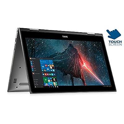 """2017 Dell Inspiron 15.6"""" 2 in 1 Full HD 1920x1080 Touchscreen Laptop PC Intel Core i7-7500U Processor 8GB DDR4 RAM 1TB HDD 802.11AC Wifi Backlit Keyboard Bluetooth Webcam HDMI Windows 10-Gray"""