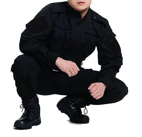 osdream exterior negro táctico traje, traje de batalla huelga ...