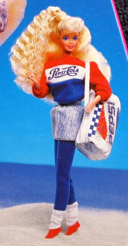 Image result for Pepsi Spirit Barbie Doll